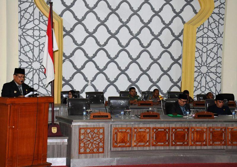 Walikota Banda Aceh Serahkan Lpj Ke Dprk Realisasi 93 Persen Media Online Aceh